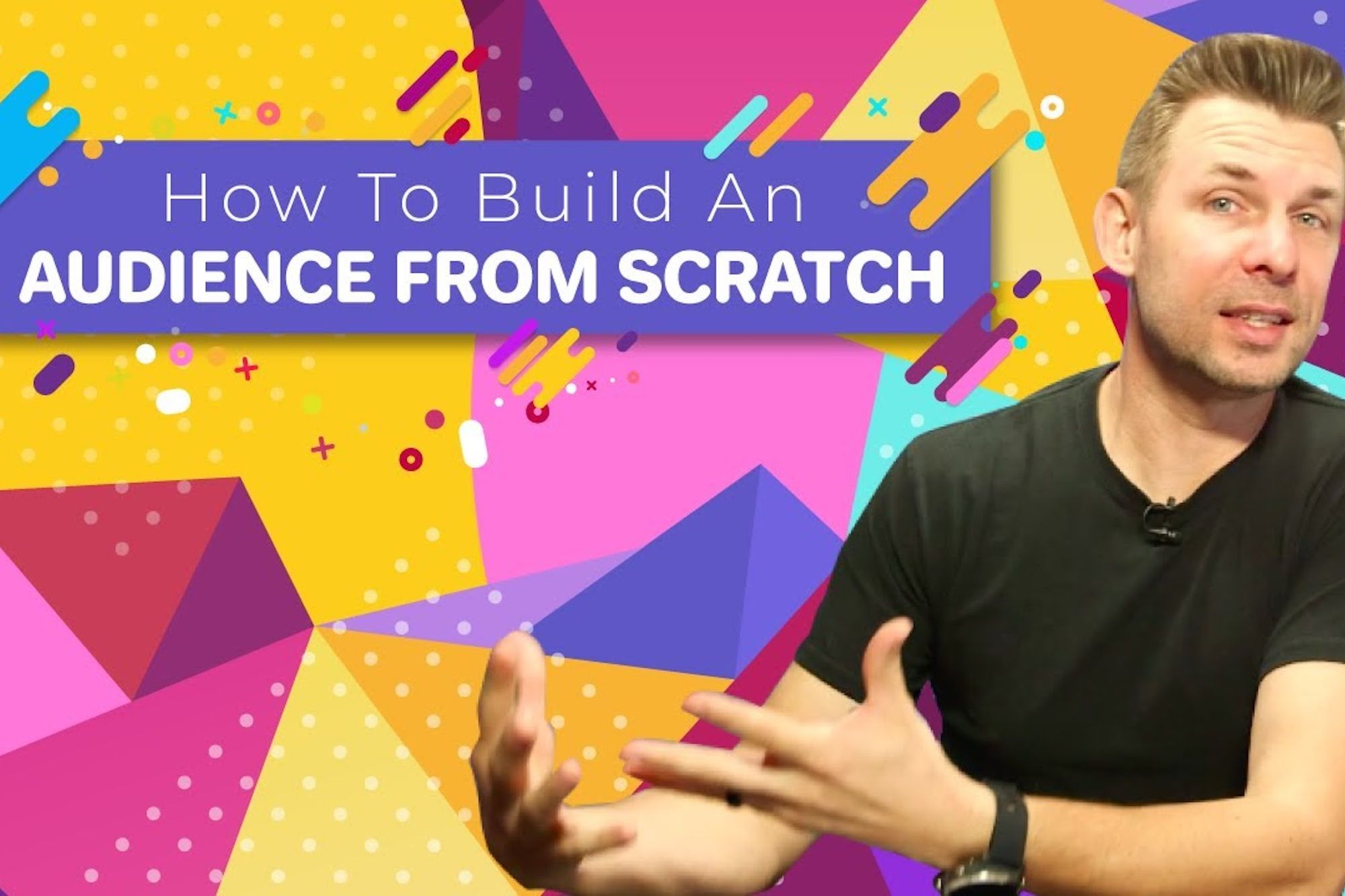 , How to Build an Audience From Scratch, Saubio Making Wealth