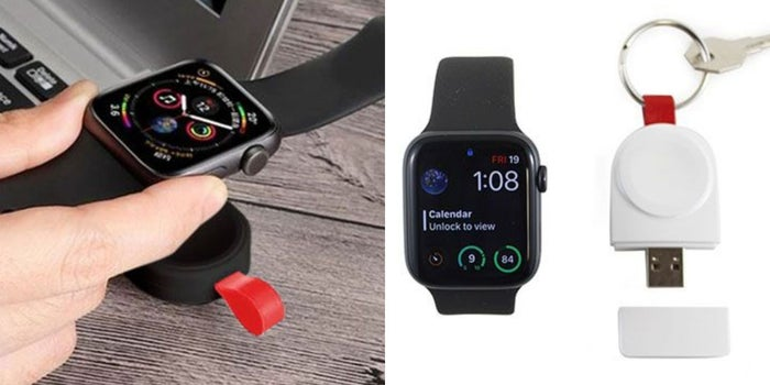 This Keychain Charger Lets You Juice Your Apple Watch on the Go