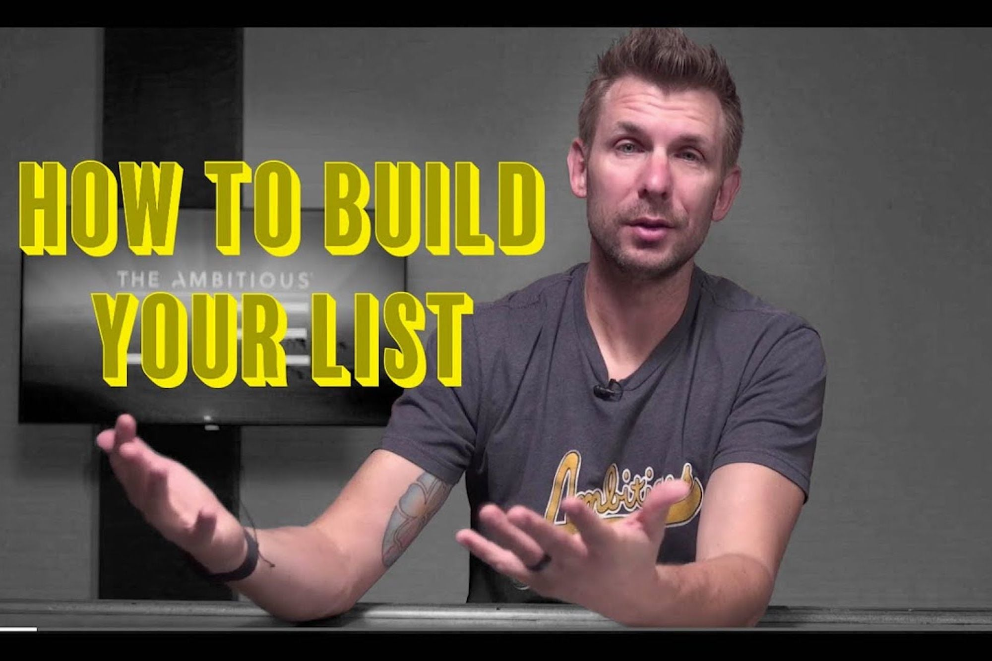 , How to Build Your Customer List and Get Your Business Off the Ground, Saubio Making Wealth