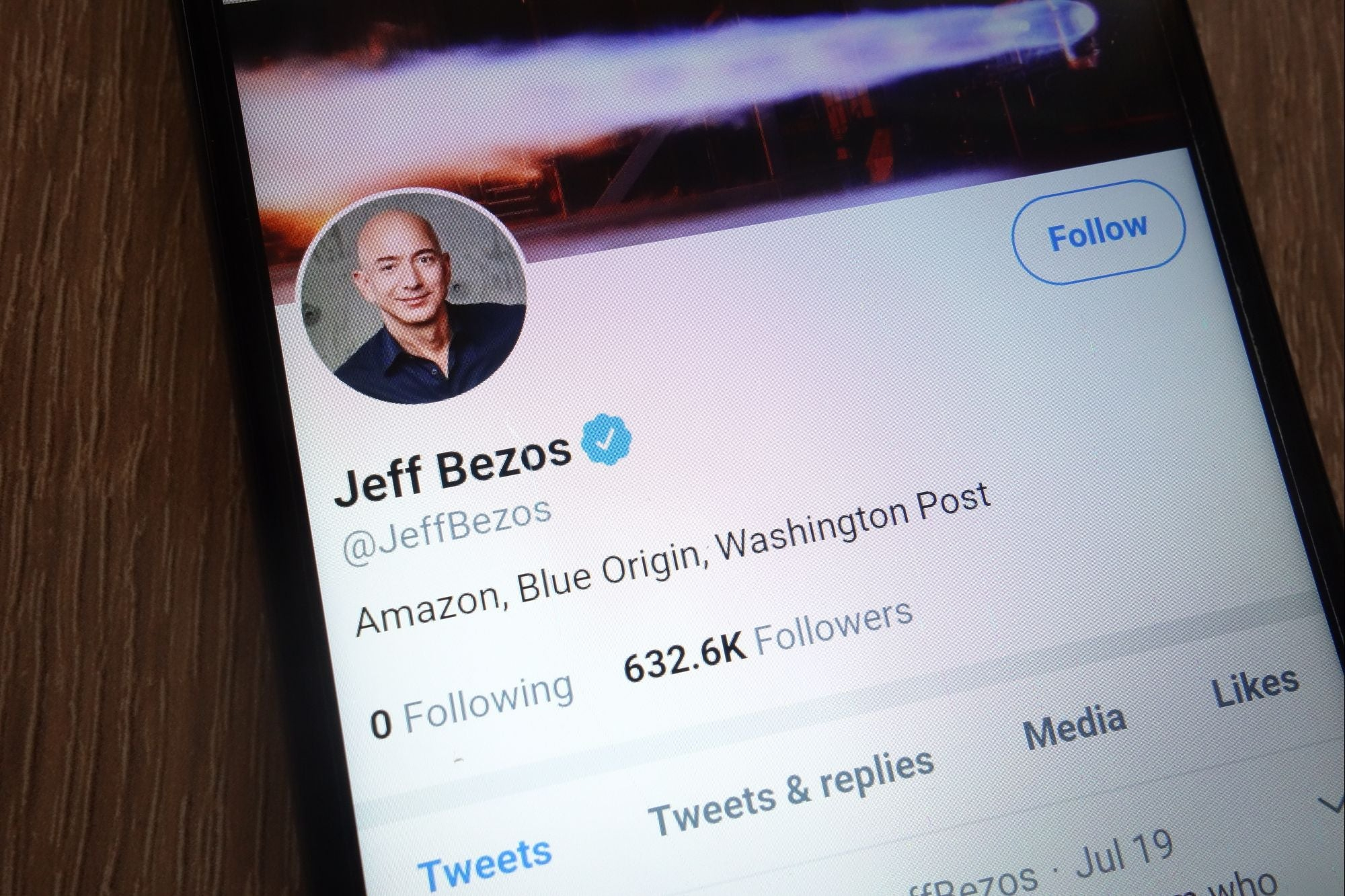 Jeff Bezos will give 10 billion of his fortune for climate change