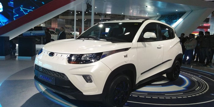 Electric SUV e-KUV 100 By M&M To Start At INR 8.25 Lakh