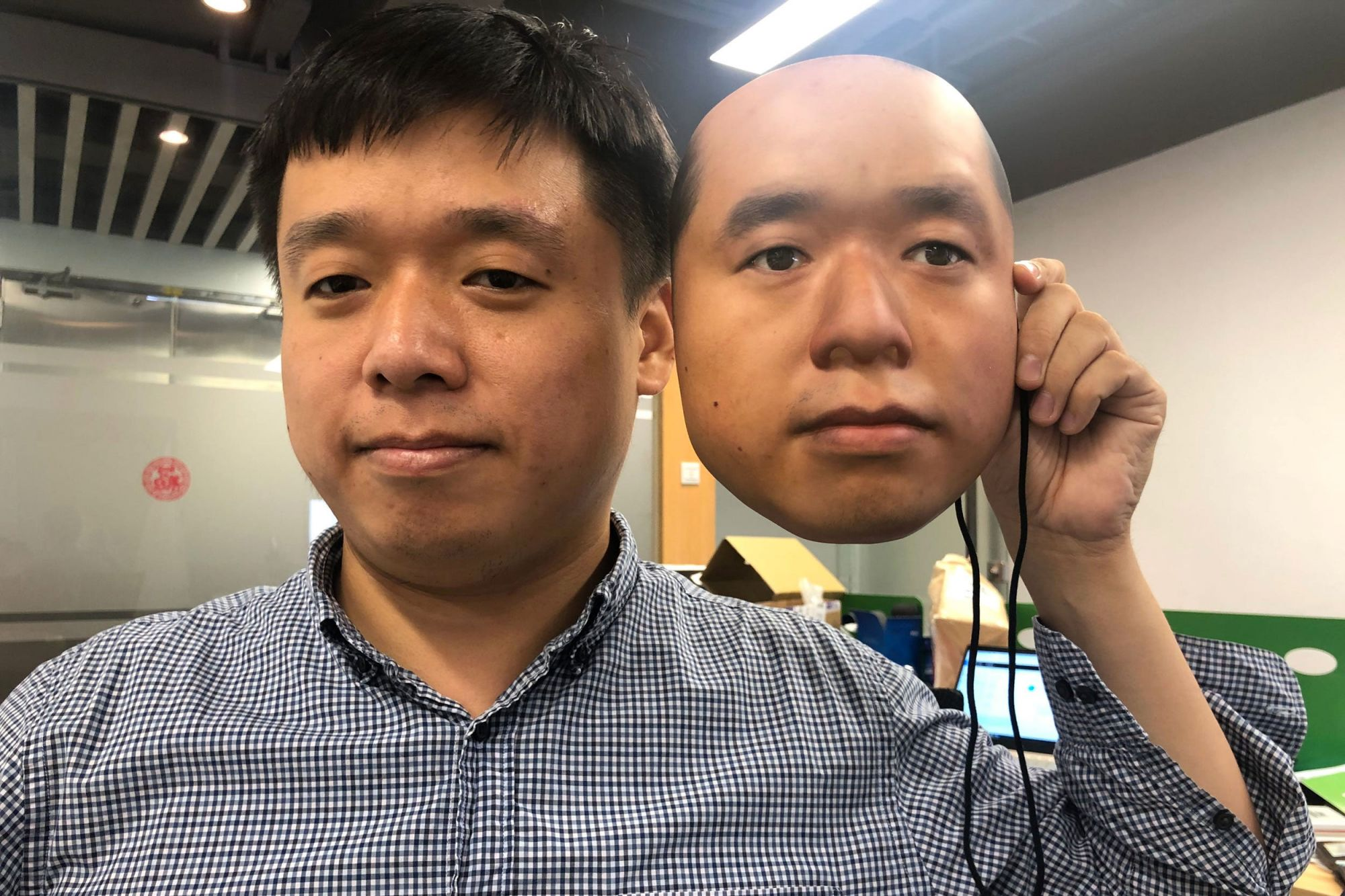 Paper Masks Are Fooling Facial Recognition Software