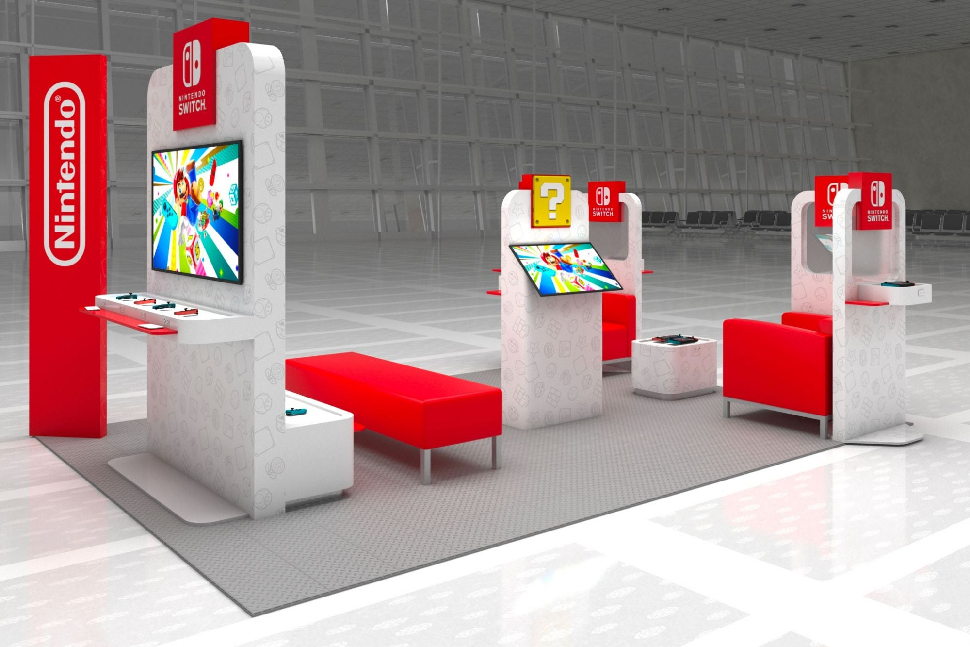 Nintendo is Opening Switch Lounges at U.S. Airports