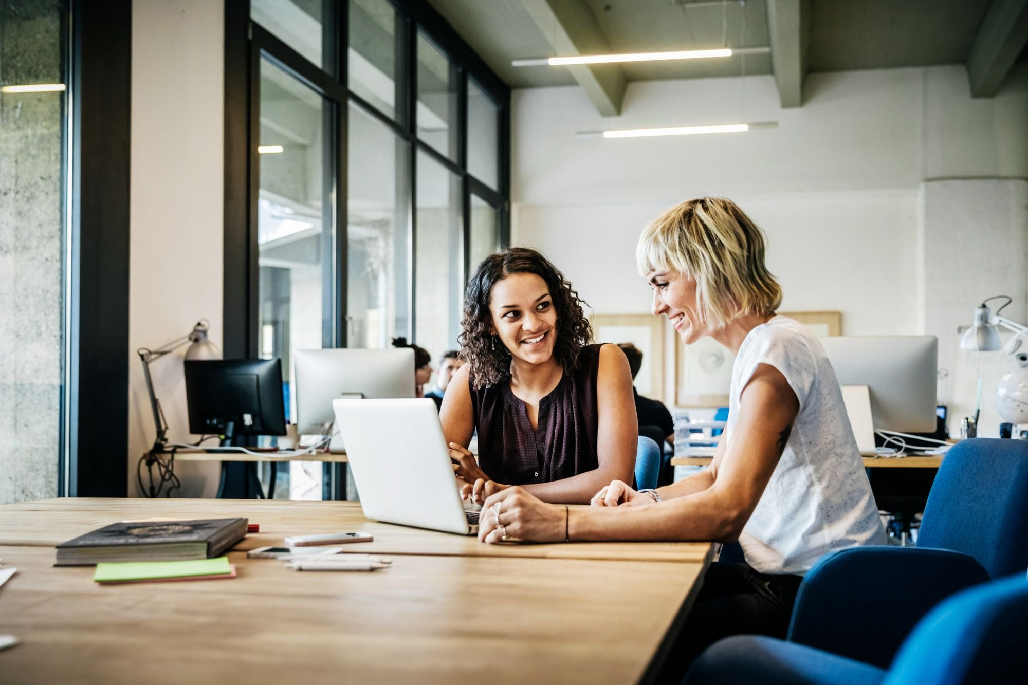 We All Need Work Wives: Here's How Bosses Can Encourage Female Friendship