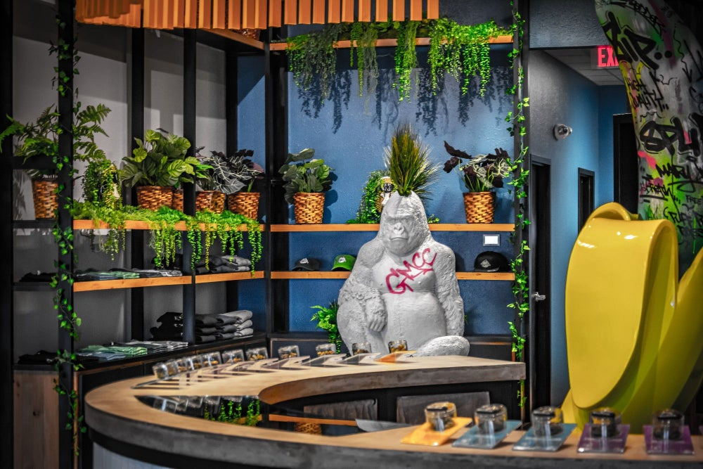 A Former Disney Imagineer Designed This Dispensary - Store Tour of Grass Monkey