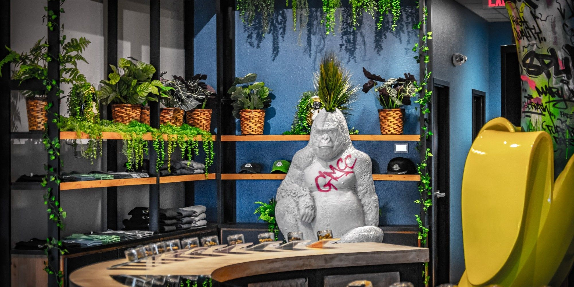 A Former Disney Imagineer Designed This Dispensary - Store Tour of Grass Monkey
