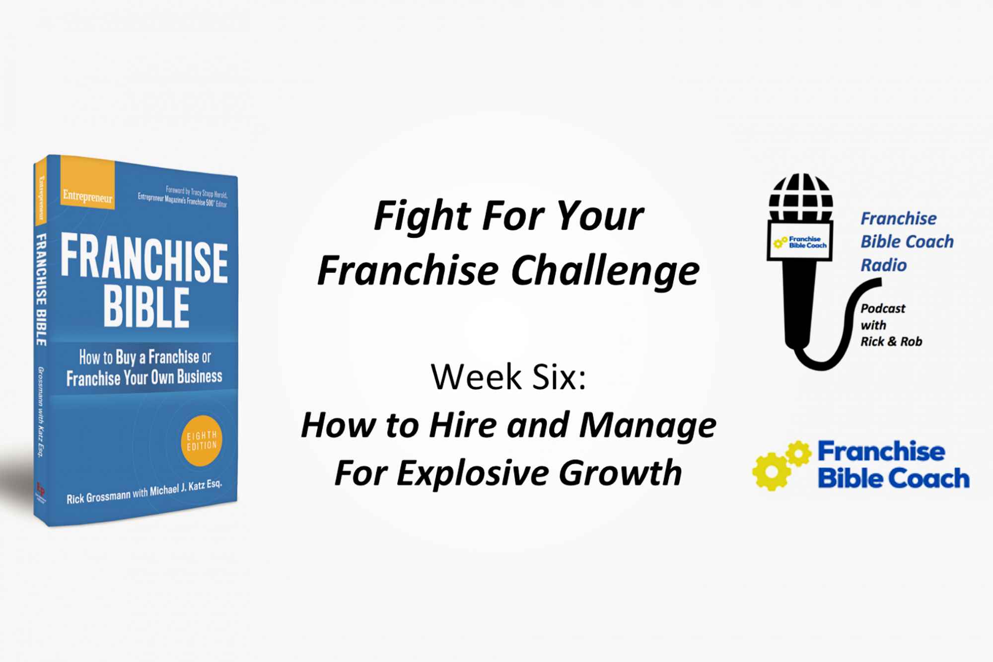 Fight for Your Franchise Challenge, Week 6: How to Hire and Manage for Explosive Growth