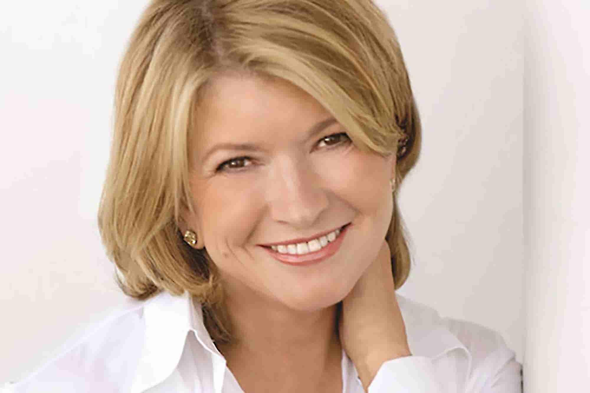 4 Secrets for Lifelong Success  From Martha Stewart