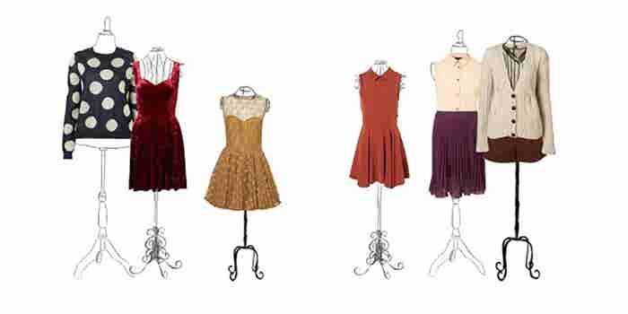 Restauración de ropa usada vintage