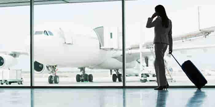 Servicio de mensajería en aeropuertos