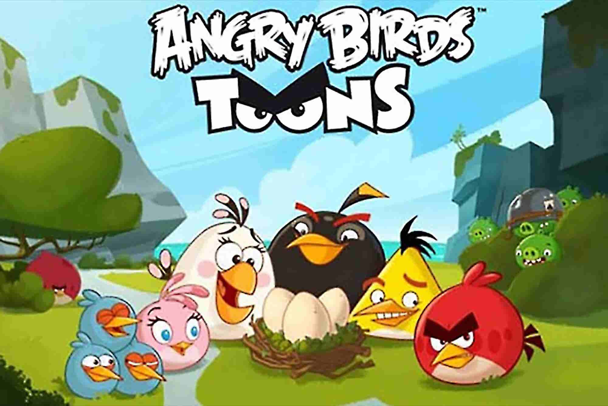 The Dominance of 'Angry Birds': From Startup to Animated Series