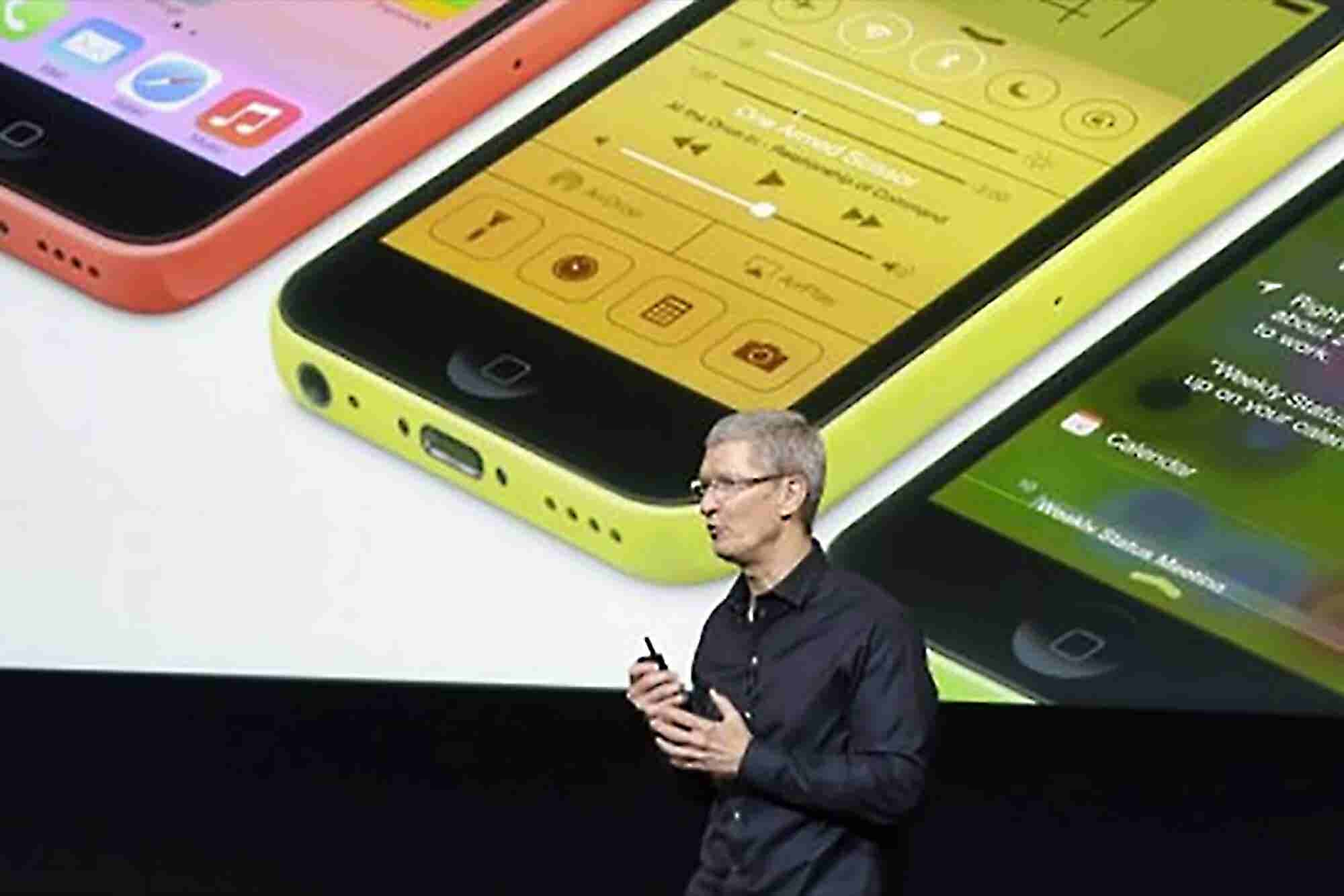 Apple Stock Prices Fall On News of the Expensive iPhone 5C