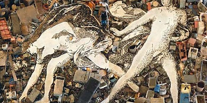 Arte con desechos
