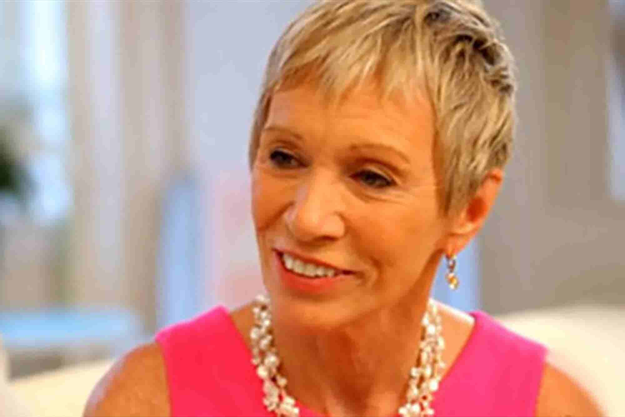 Barbara Corcoran: 'The Joy Is in the Getting There'