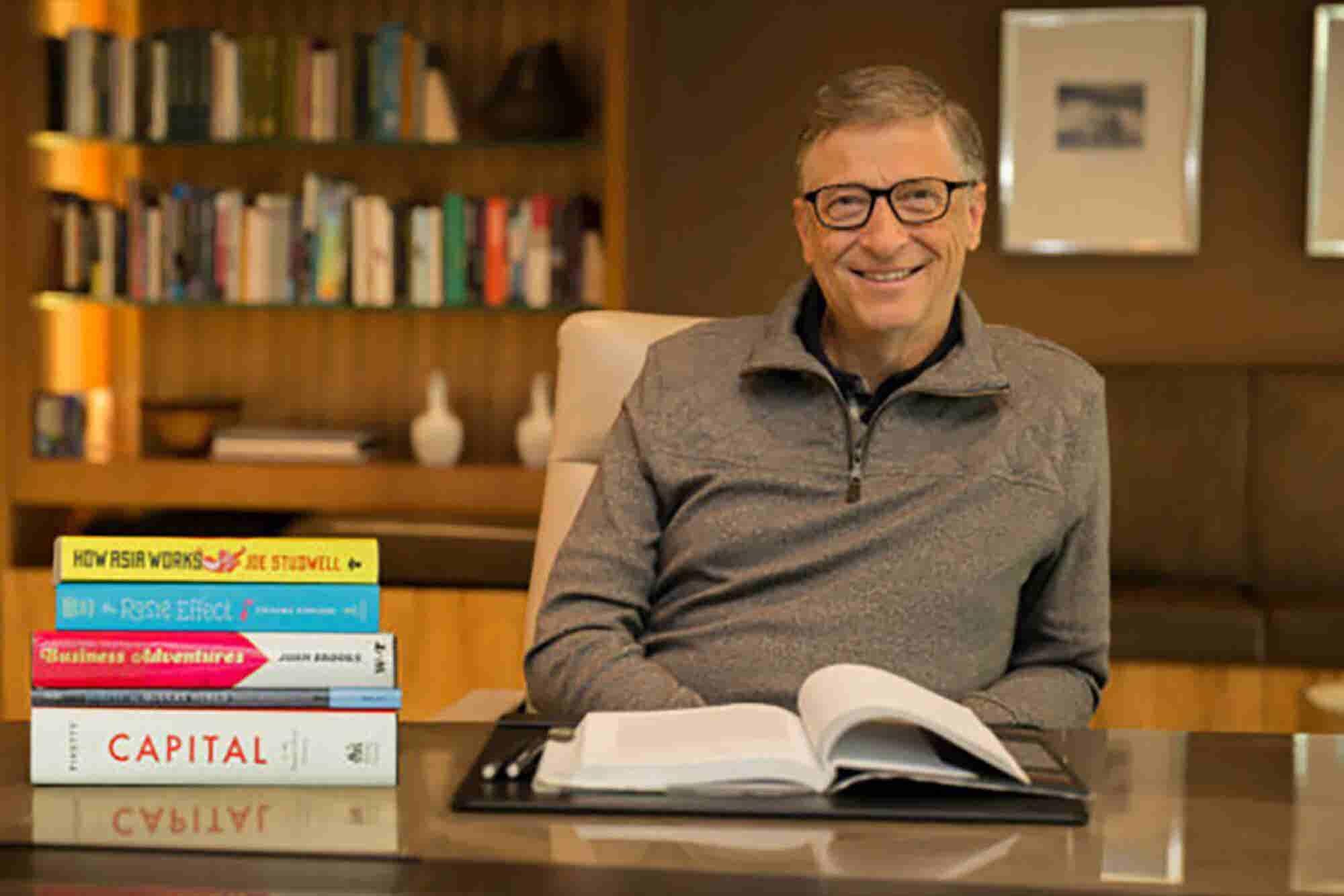 ¿Qué leen Bill Gates y otros emprendedores?