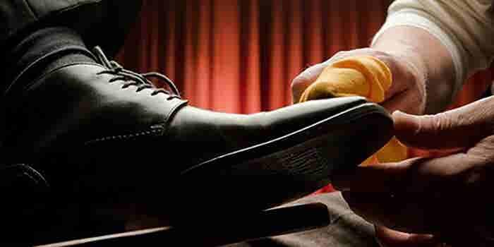 Boleado de zapatos a domicilio