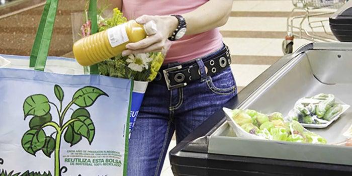 Bolsas reutilizables para supermercados