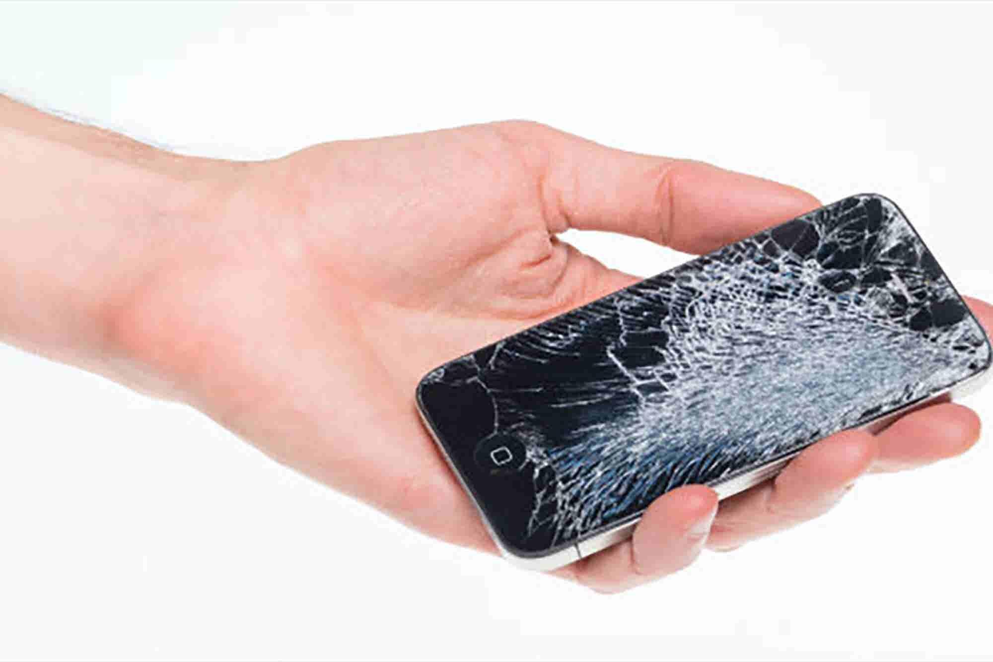 Kiosko de reparación y recarga de celulares