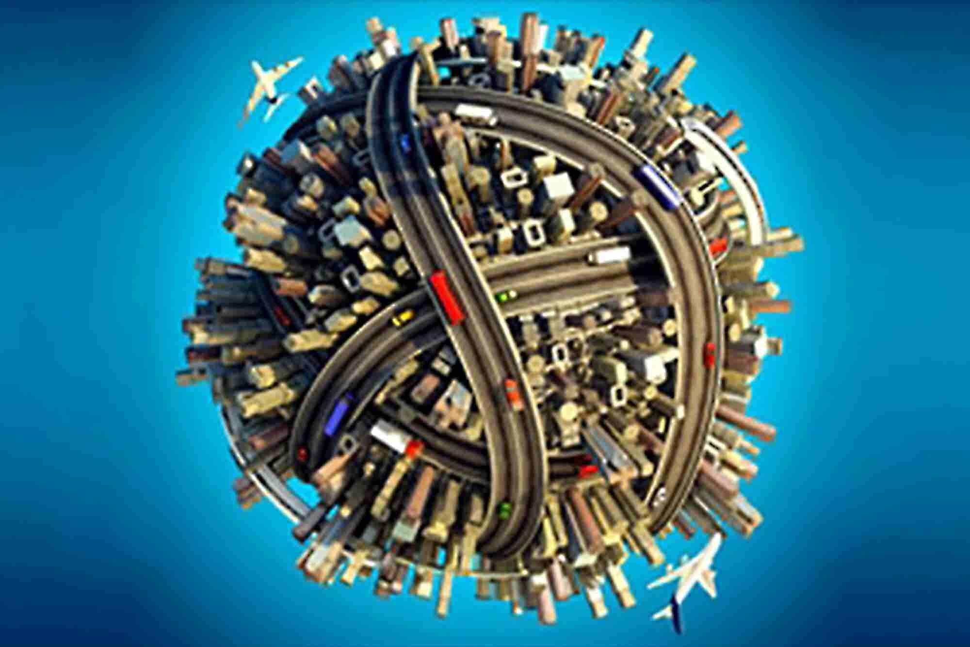 Crisscrossing the Globe In the Name of Entrepreneurship
