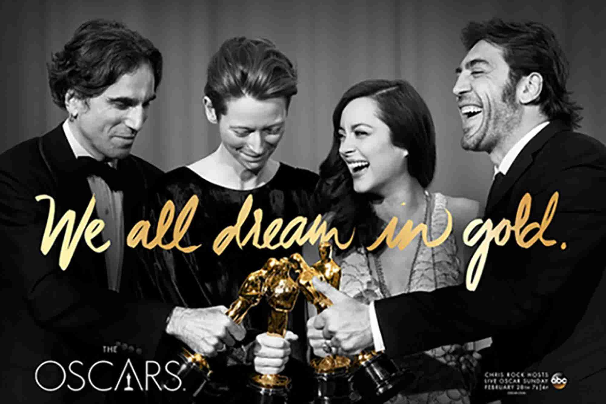 Los Oscar 2016: sueños dorados de marketing