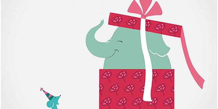 Elefantes bailando con ratones
