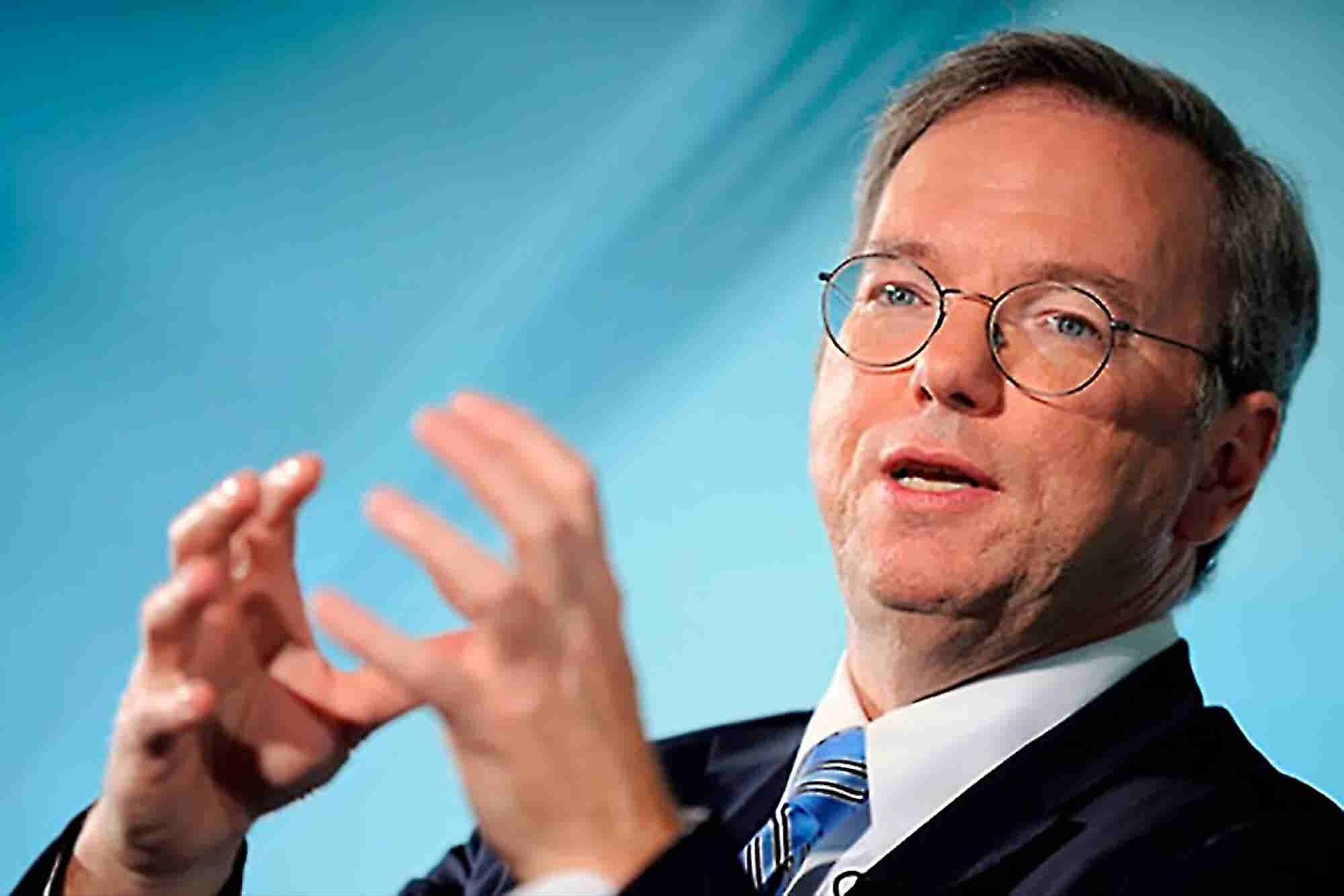 Eric Schmidt Talks Motorola, Microsoft, Immigration and NSA