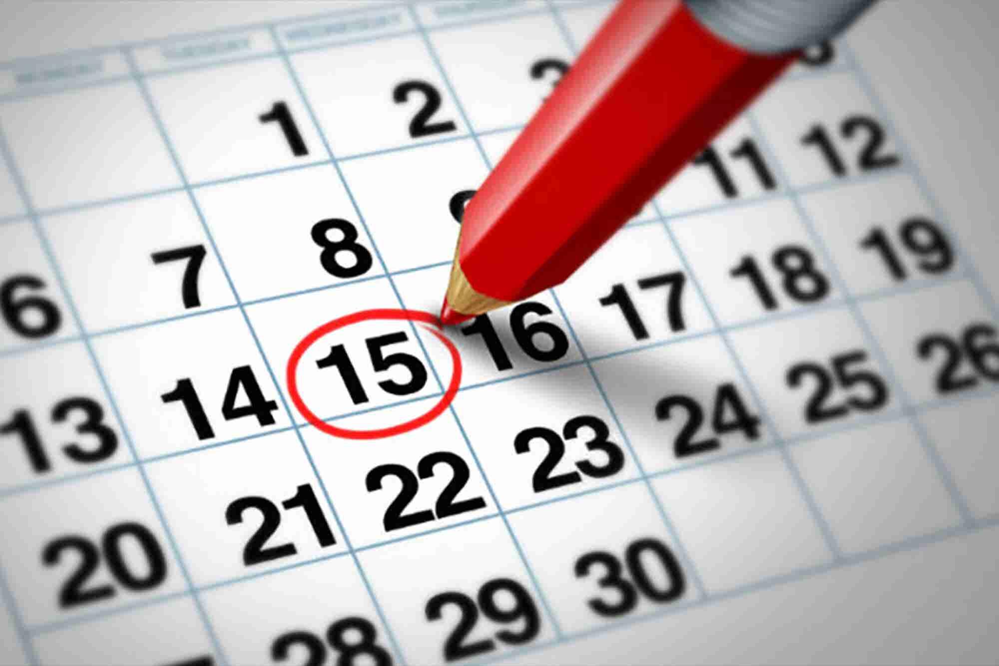 Calendario de eventos en Ciudad Juárez