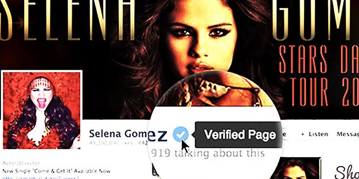 Like Twitter, Facebook Rolls Out Verified Pages