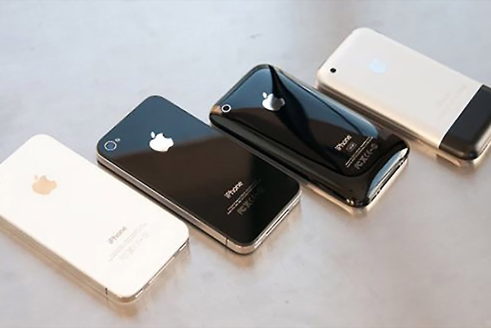 From the Original to the 5C and 5S: A Look Back at iPhone Mania