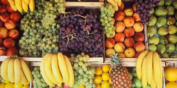 Venta móvil de frutas y verduras