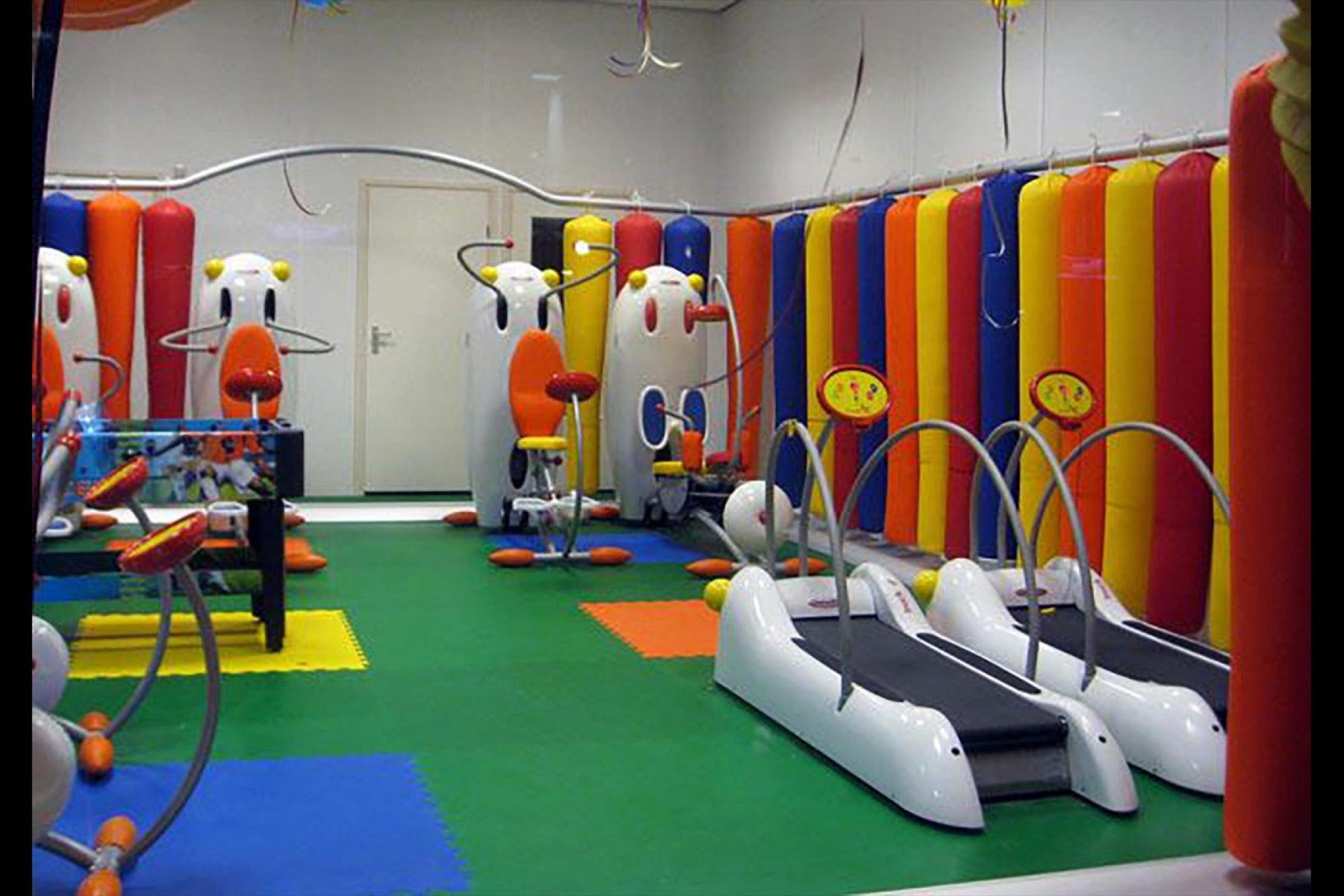 gimnasia para niños cdmx
