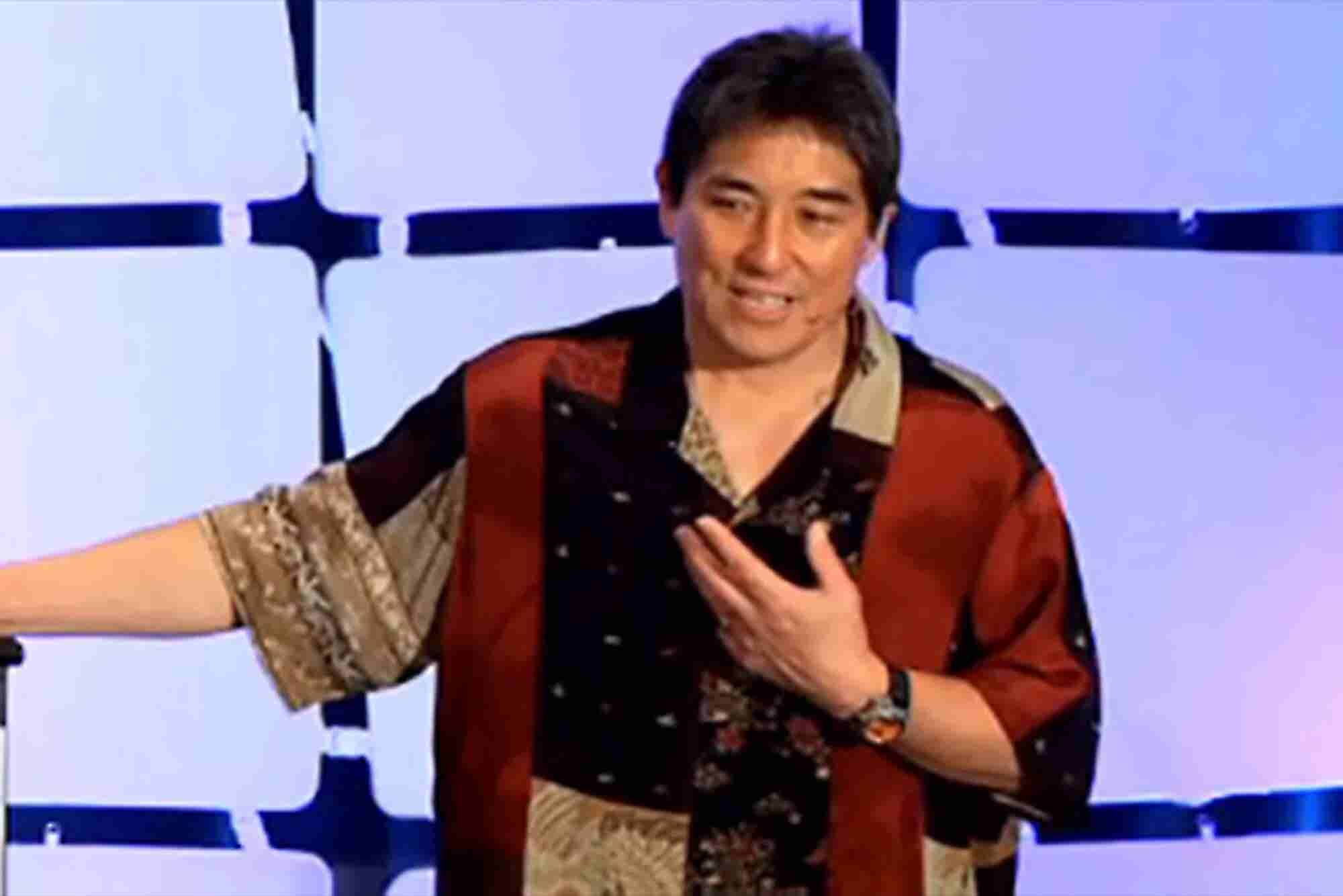Guy Kawasaki: To Win at Social Media, 'Plant Many Seeds'