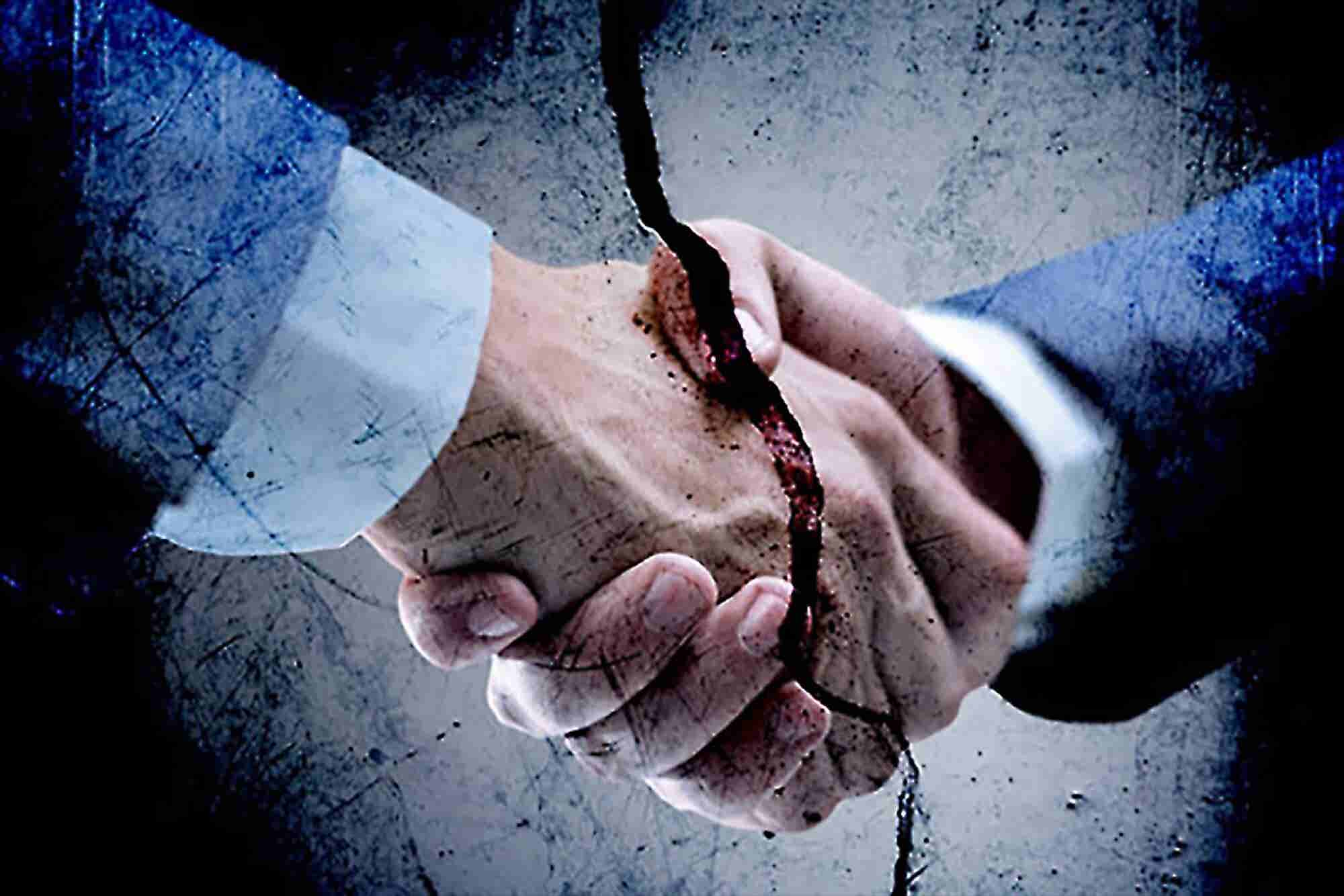 How a Handshake Can Destroy Your Business