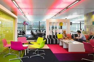 How to Transform Your Workspace With Color