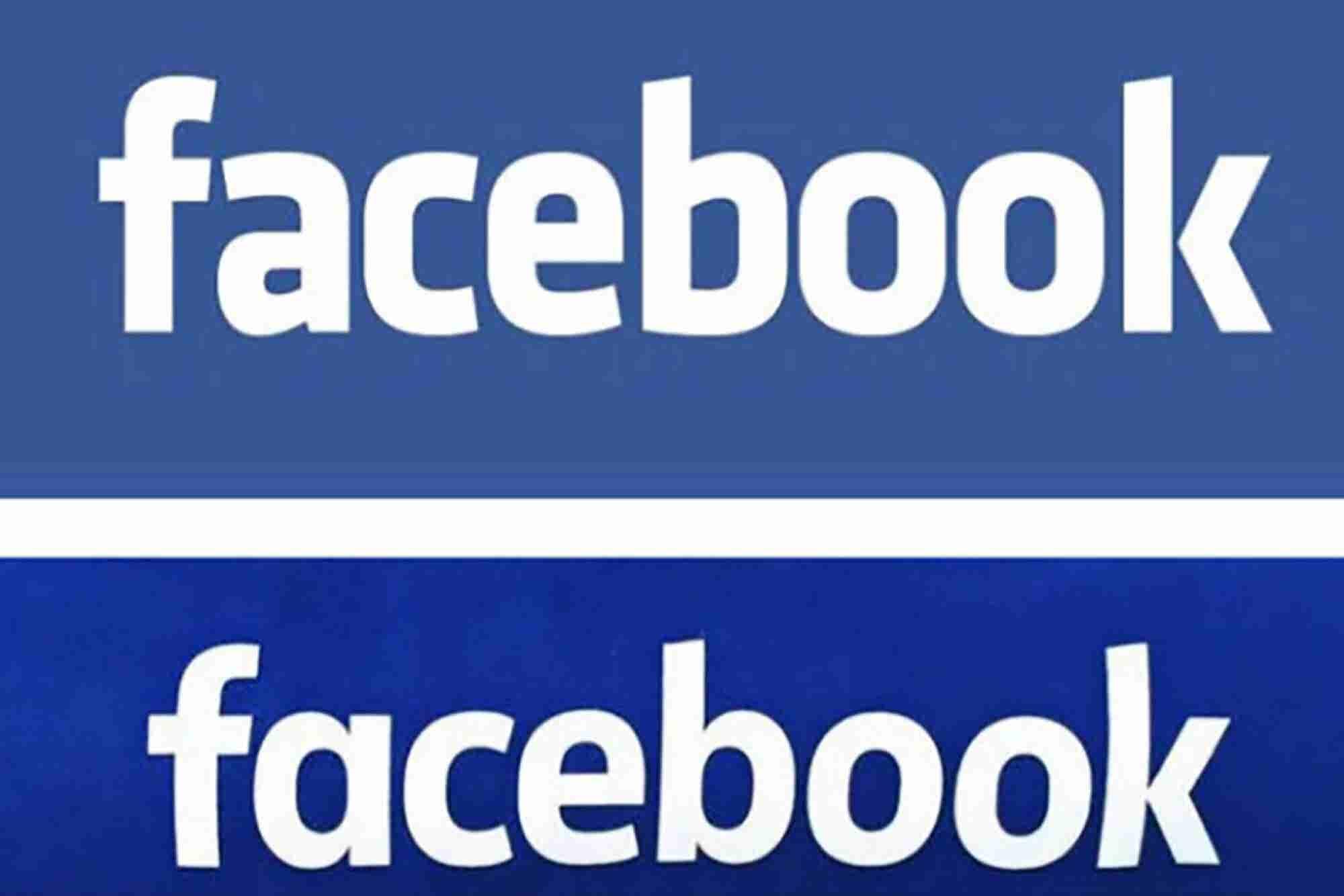 Facebook cambia de logo…levemente