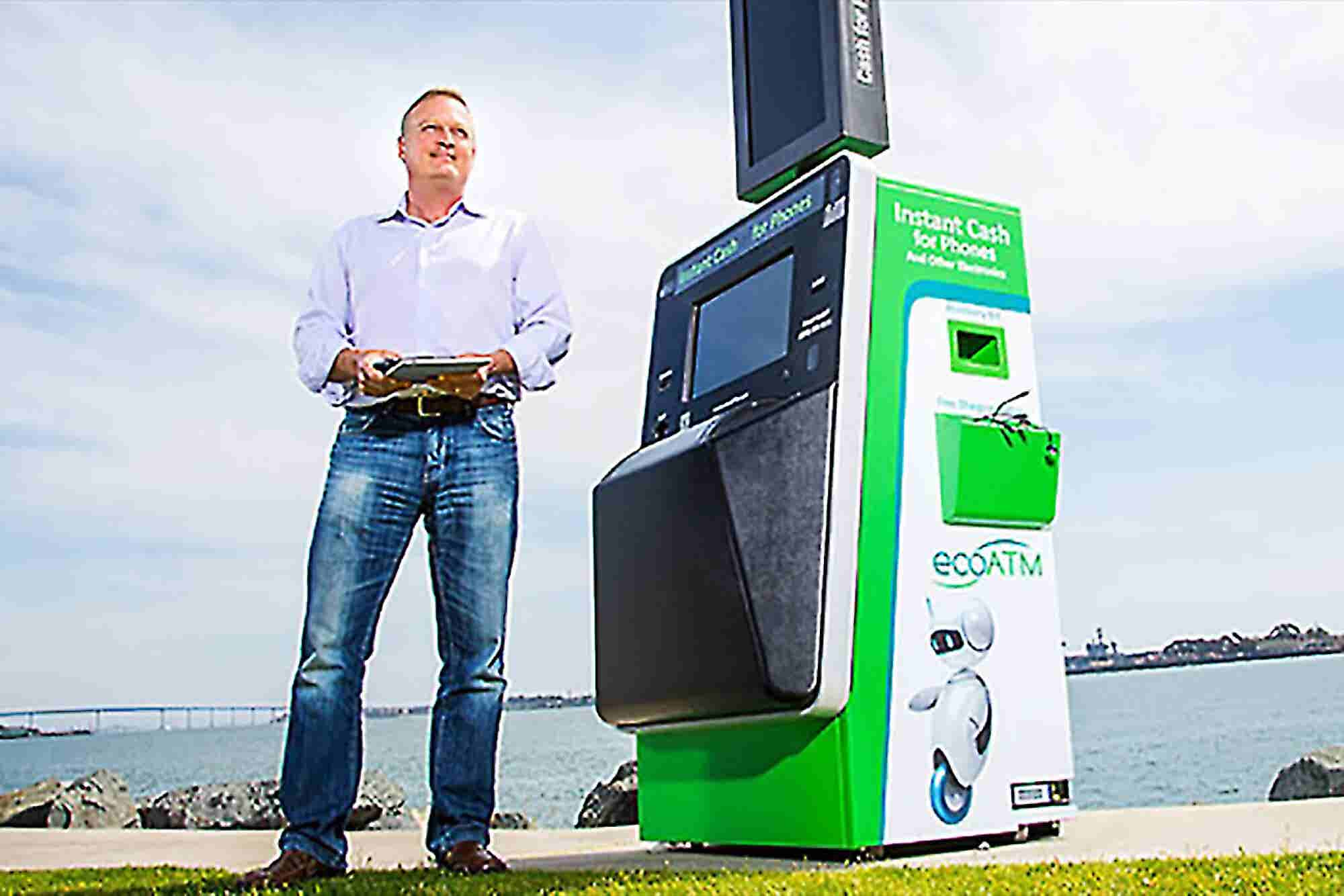 The Serial Entrepreneur Who Is Tackling E-Waste With EcoATMs