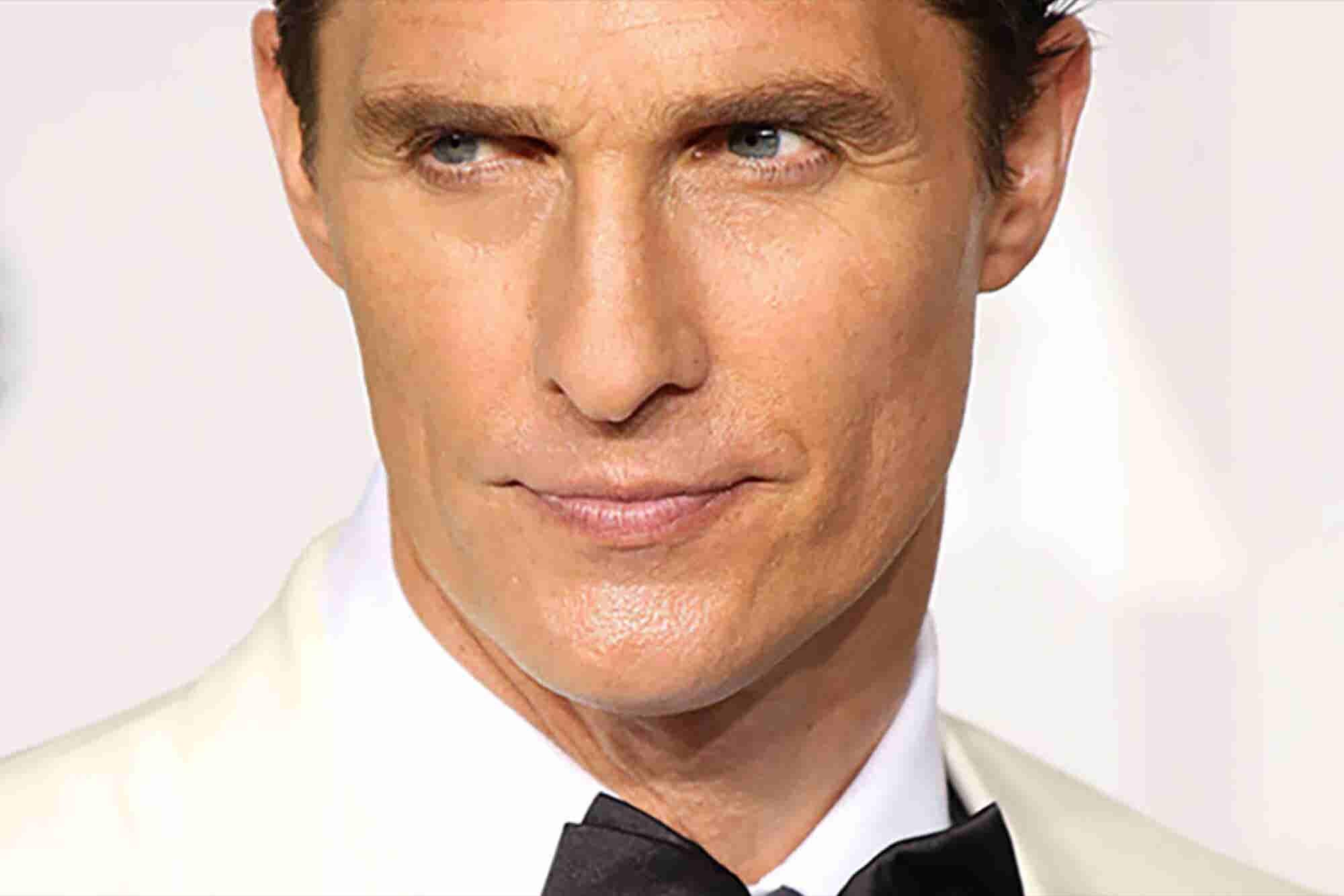 4 lecciones de Matthew McConaughey