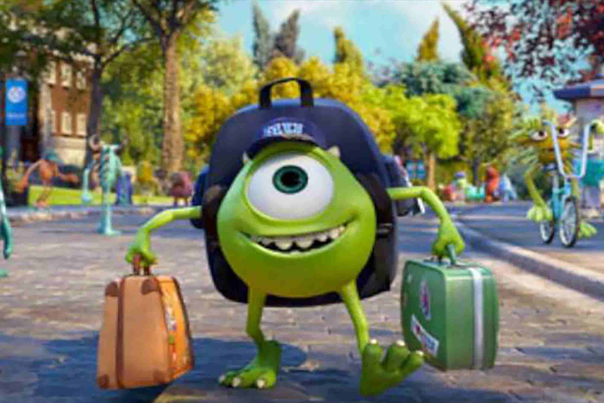 7 lecciones de Monsters University