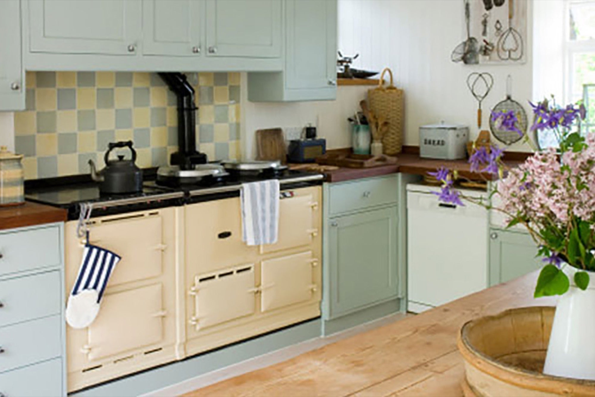 Muebles de cocina sustentables