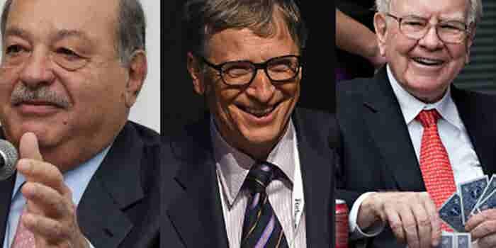 Top 25: multimillonarios que crearon su fortuna