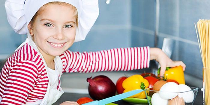 Taller de cocina sana para niños