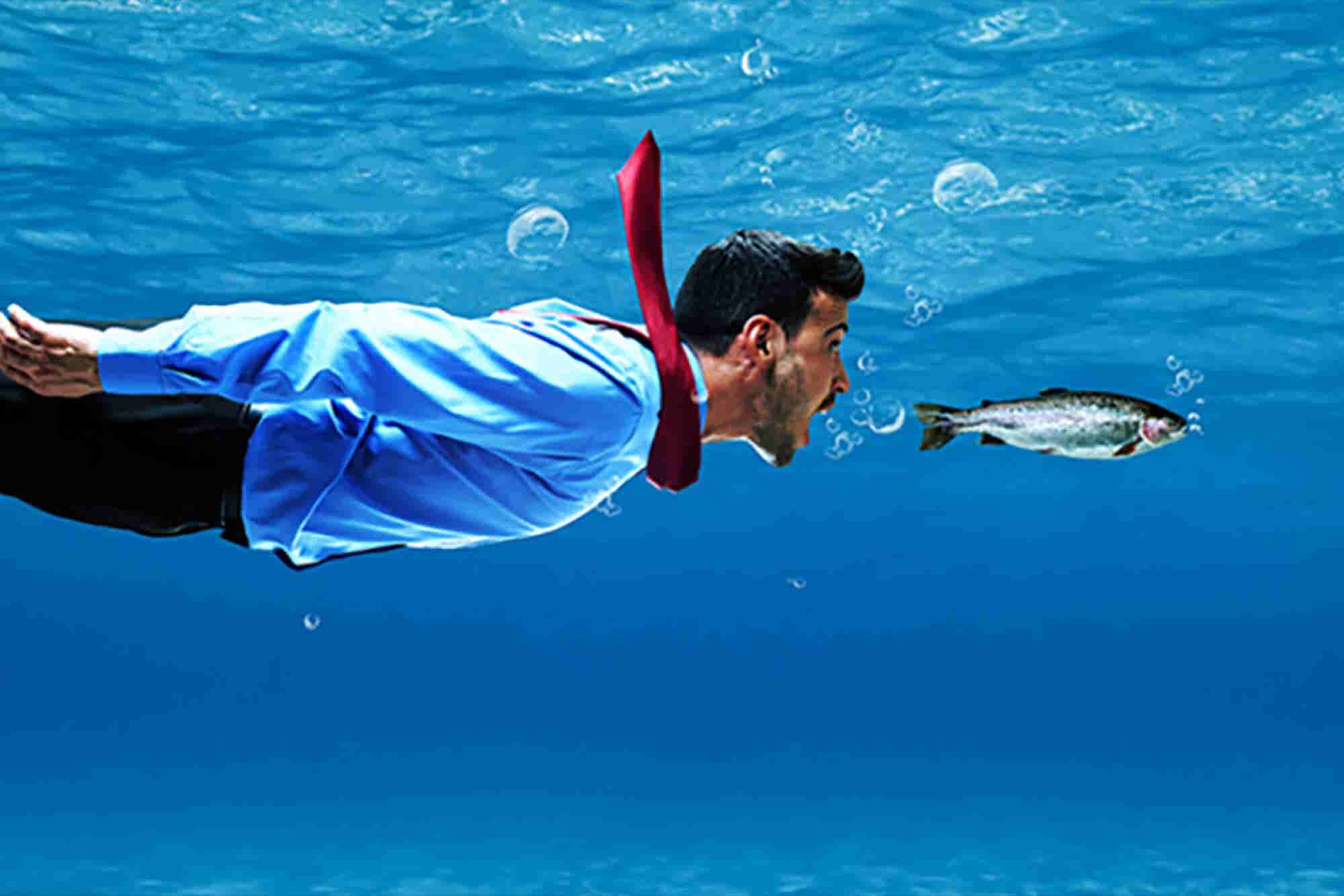 """La forma más fácil de """"pescar"""" clientes"""