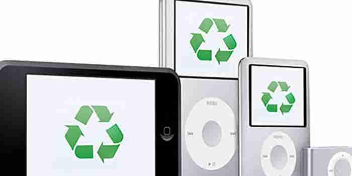 Reciclaje de iPods