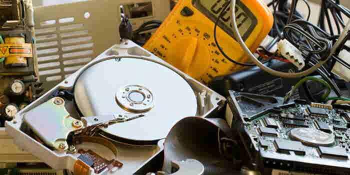 Recolección de residuos electrónicos a domicilio