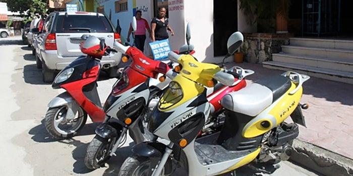 Renta de motonetas