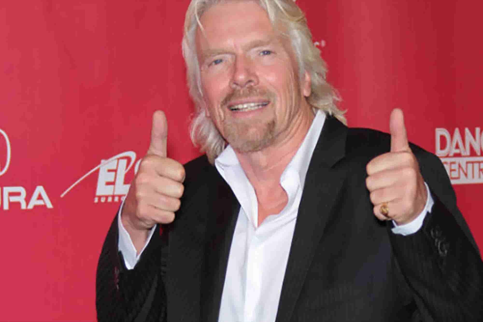 Qué les dio Richard Branson a sus empleados