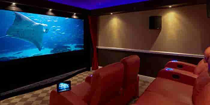 Salas de cine en casa