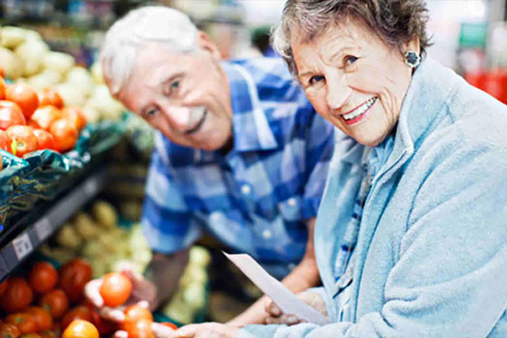 Supermercados para ancianos