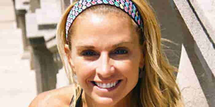 Fitness Instructor Creates a Sweat-Proof Headband