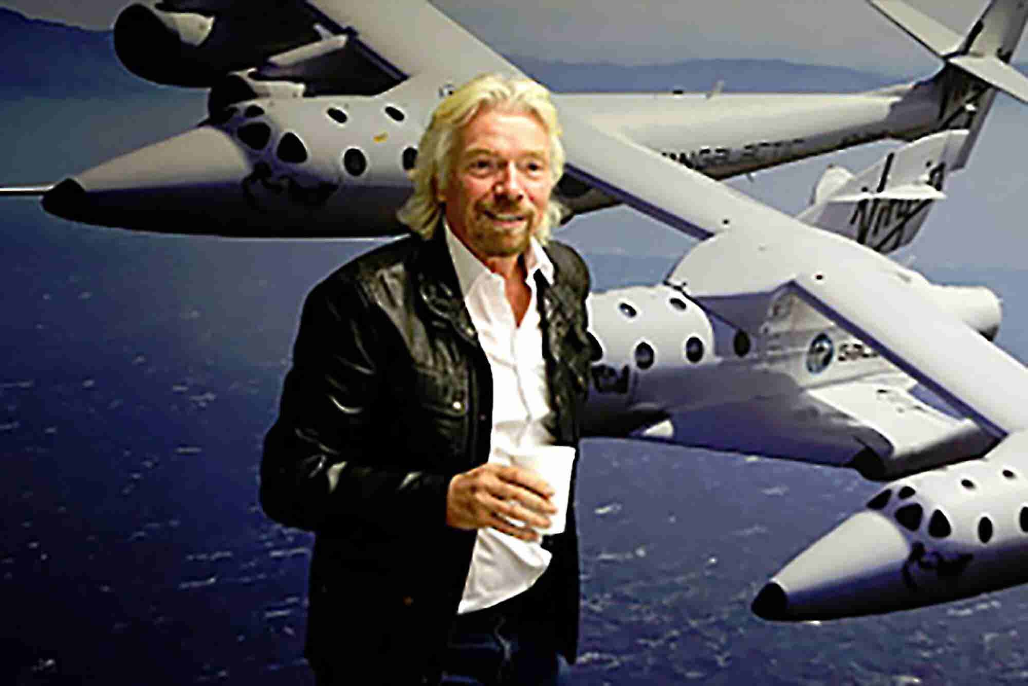 These Famous People Have Tickets for Richard Branson's Space Flights